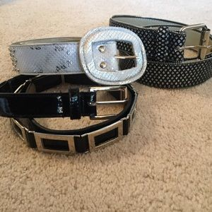 Set of 3 Belts